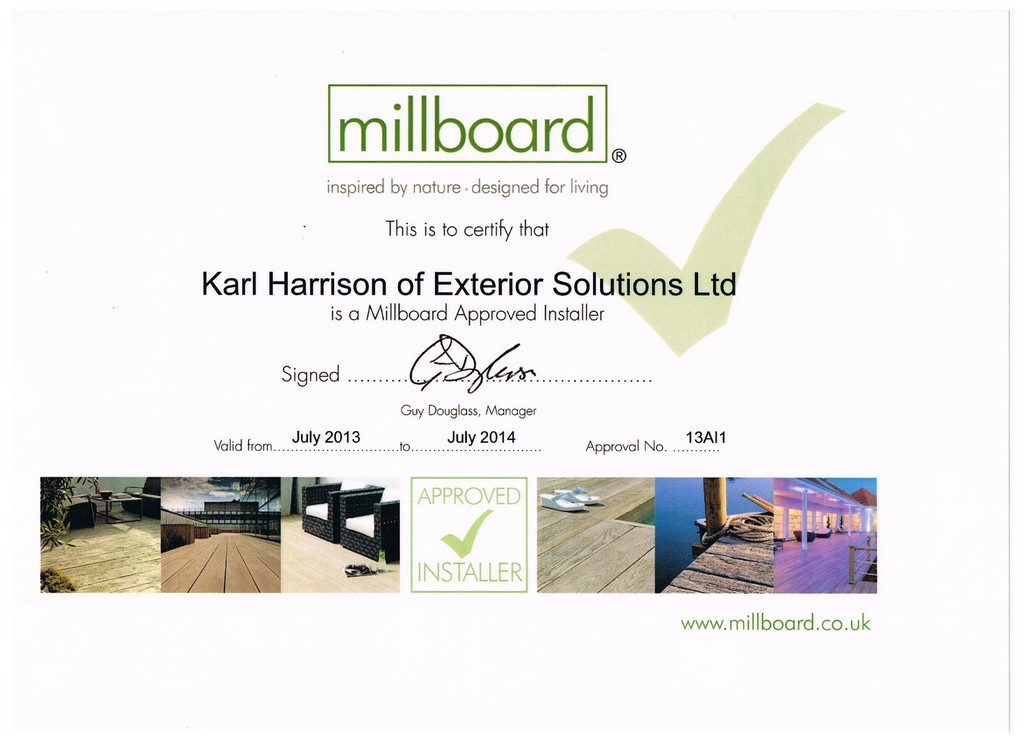 Millboard approved installer