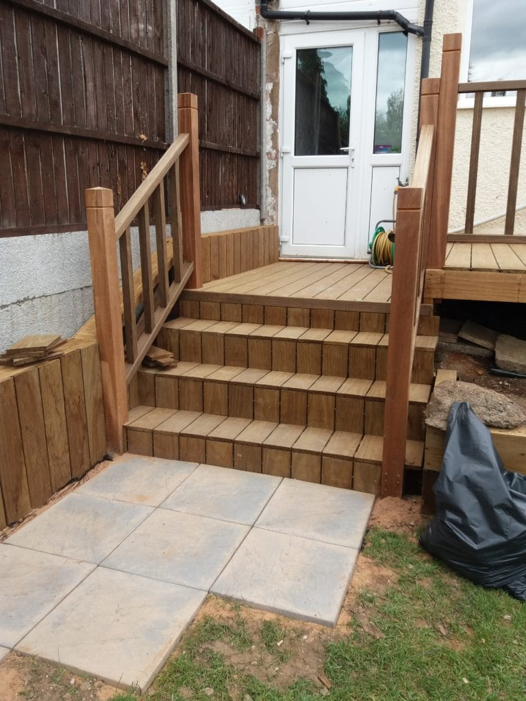 Brooks Bros decking steps