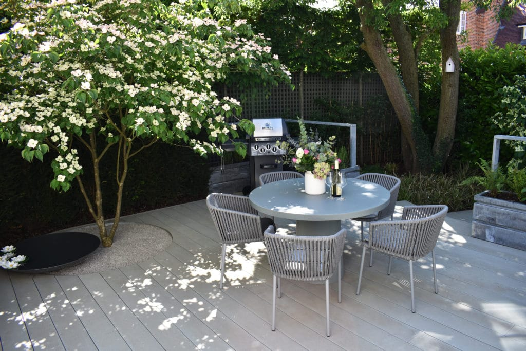 smoked oak grey millboard composite decking