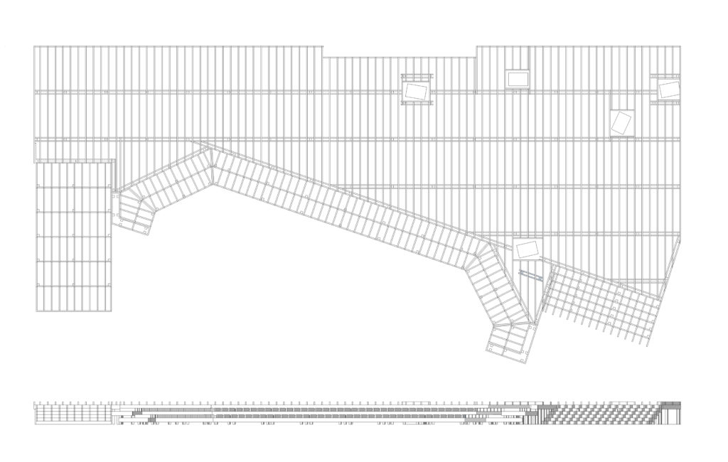 decking structure detail