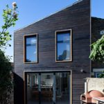 Dark Shou Sugi Ban cladding on a beautiful house