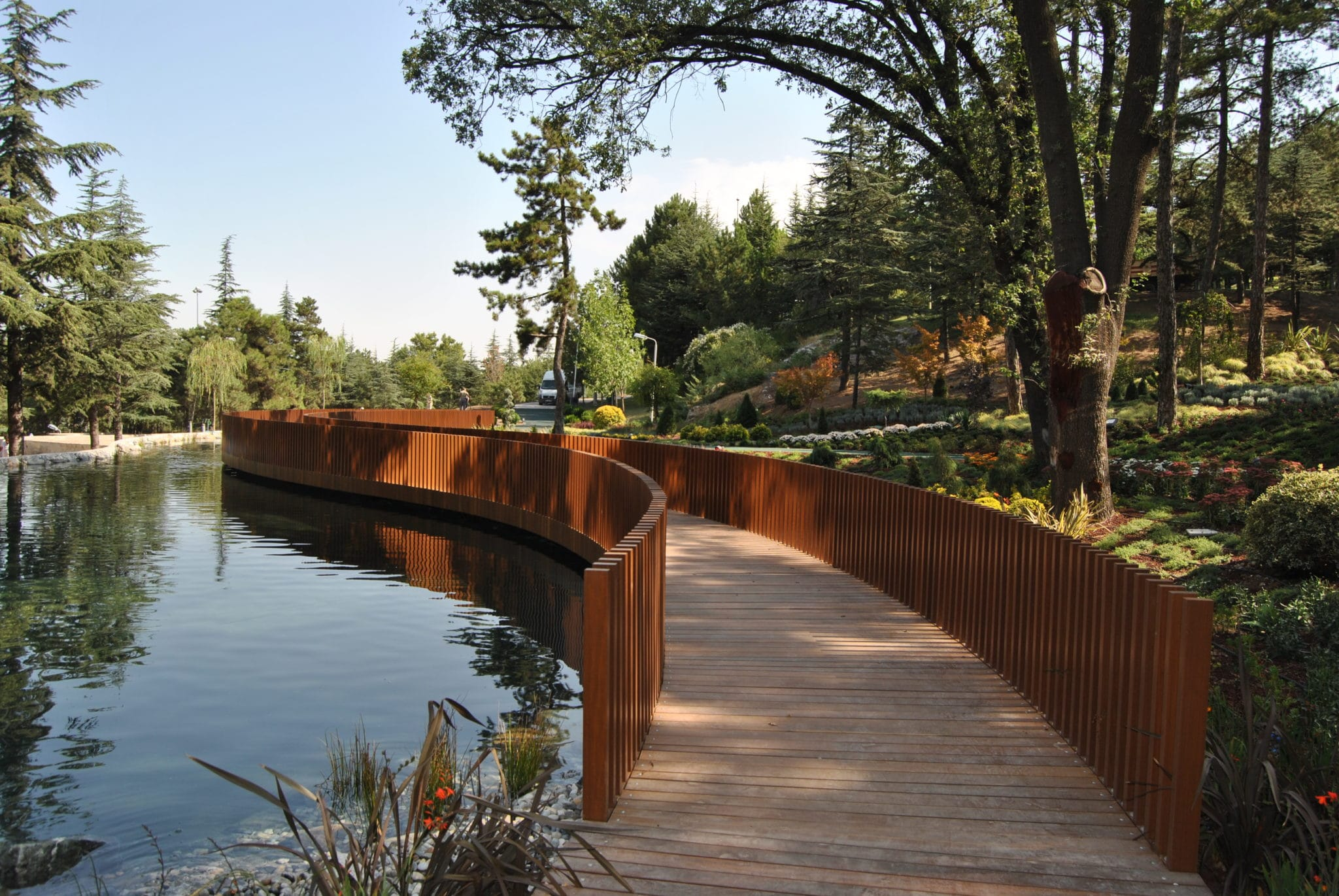 fire rated bridge technowood