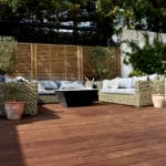 Sustainable Kebony hardwood decking