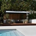 Kebony hardwood used for a pool deck