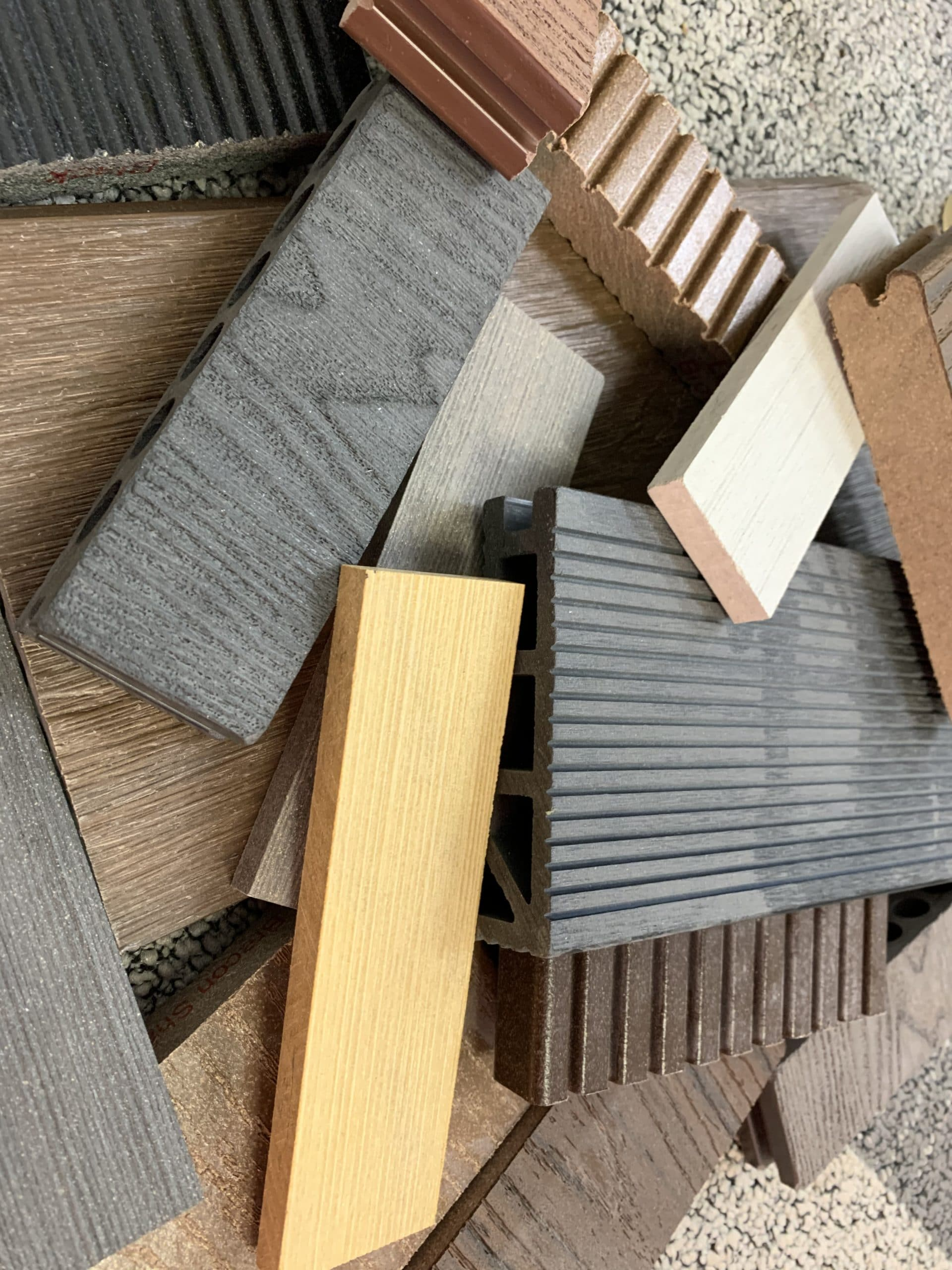 composite decking arrangement