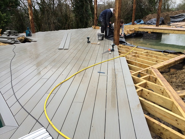 Everything Stone Install Decking in Cornwall