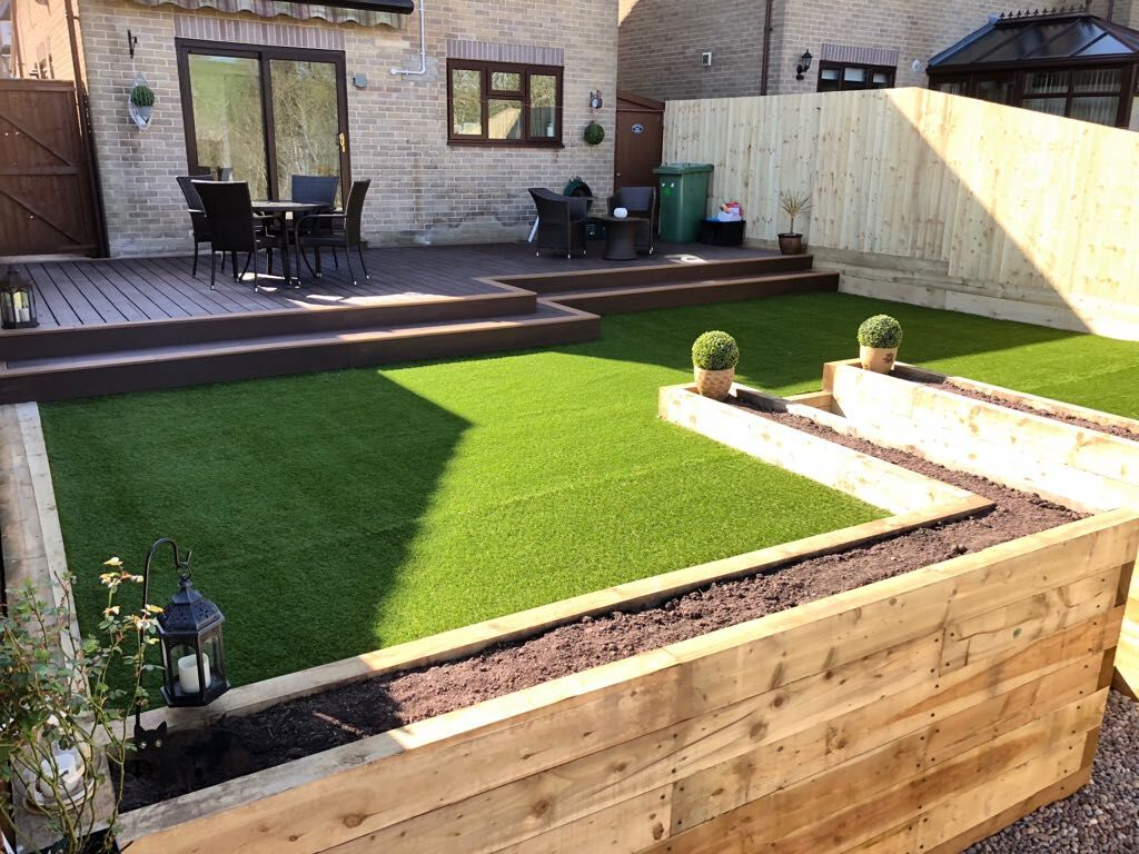 High Standards of a decking installer in Shepton Mallet