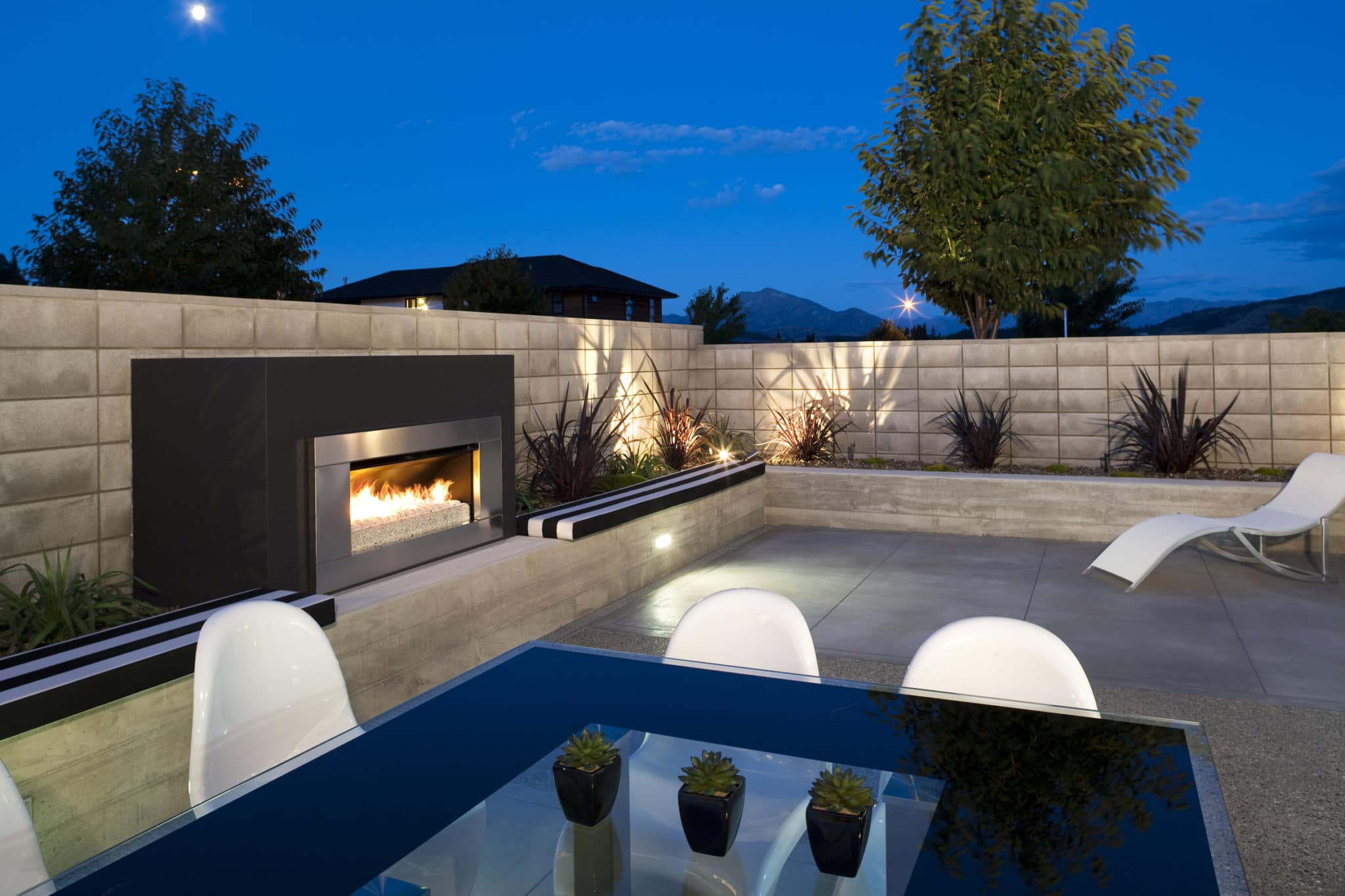 Decking Terrace Fire Places in Amersham, Buckinghamshire