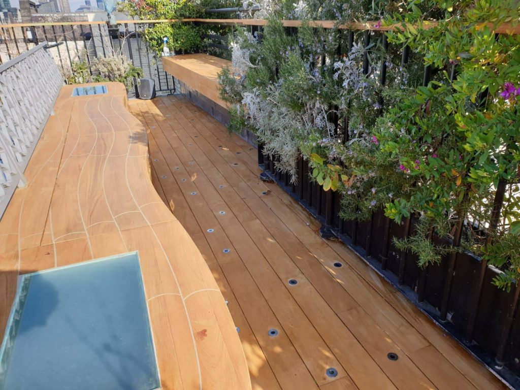 How to maintain your London teak decking with Owatrol