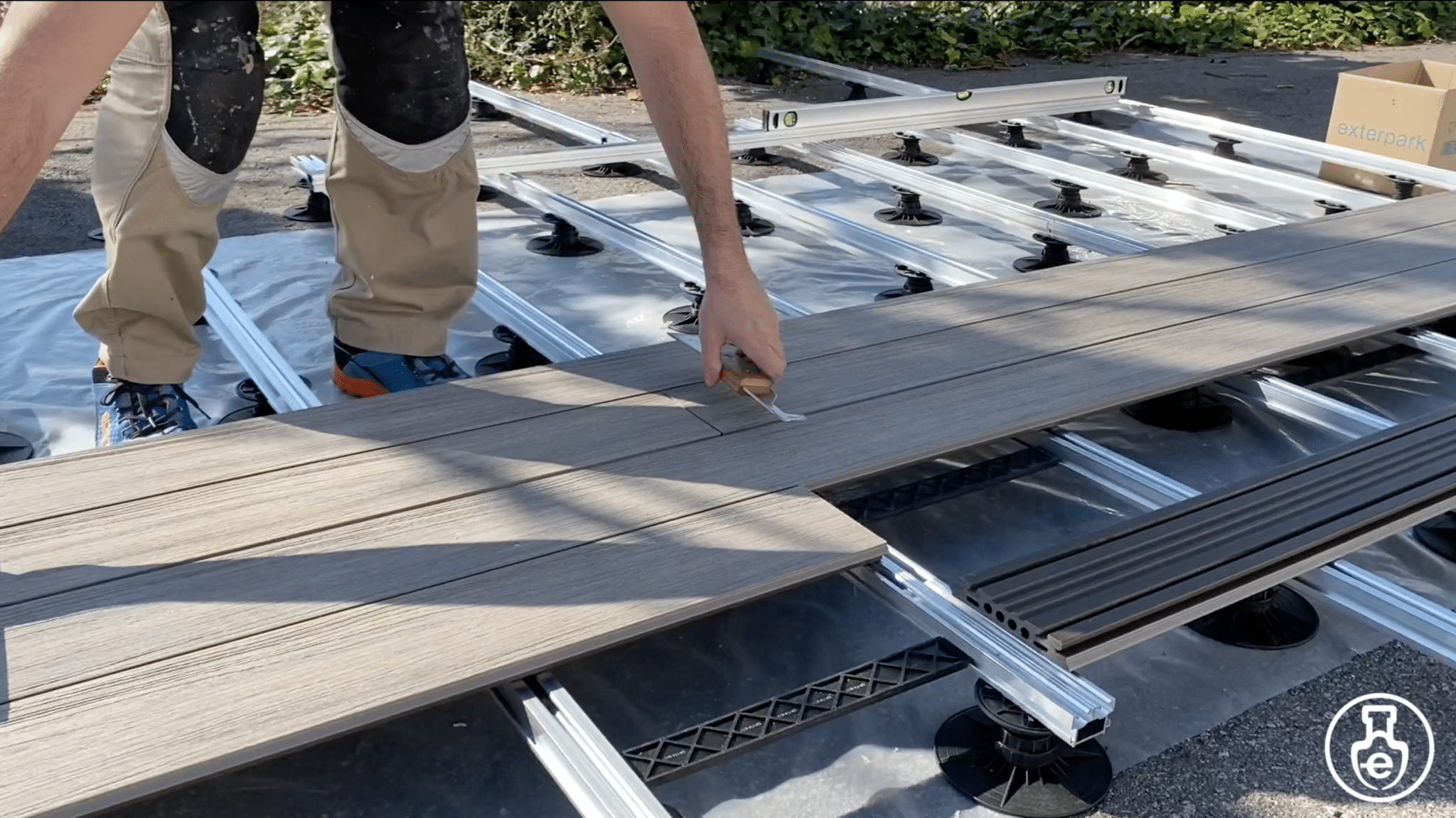 composite decking installation tutorial