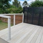 millboard decking accoya wood balustrade