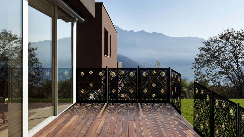 How to make your garden private with Logi custom made balustrades