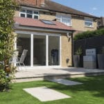 Millboard Limed Oak Deck Installed in Denham