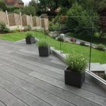 Millboard brushed basault installation