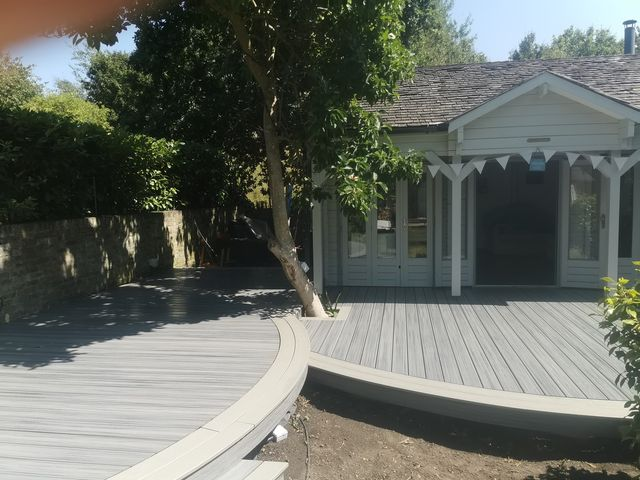 A Brighter Shade Of Green Trex Decking Installer
