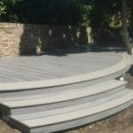 Custom Curved Decking Design