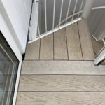 millboard composite decking staircase and balcony