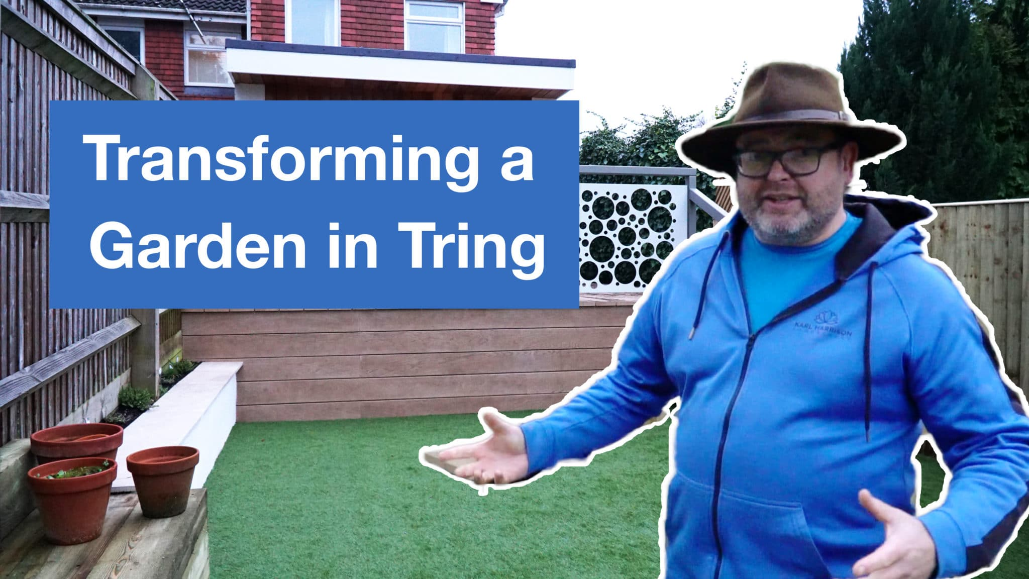Transforming a garden in Tring