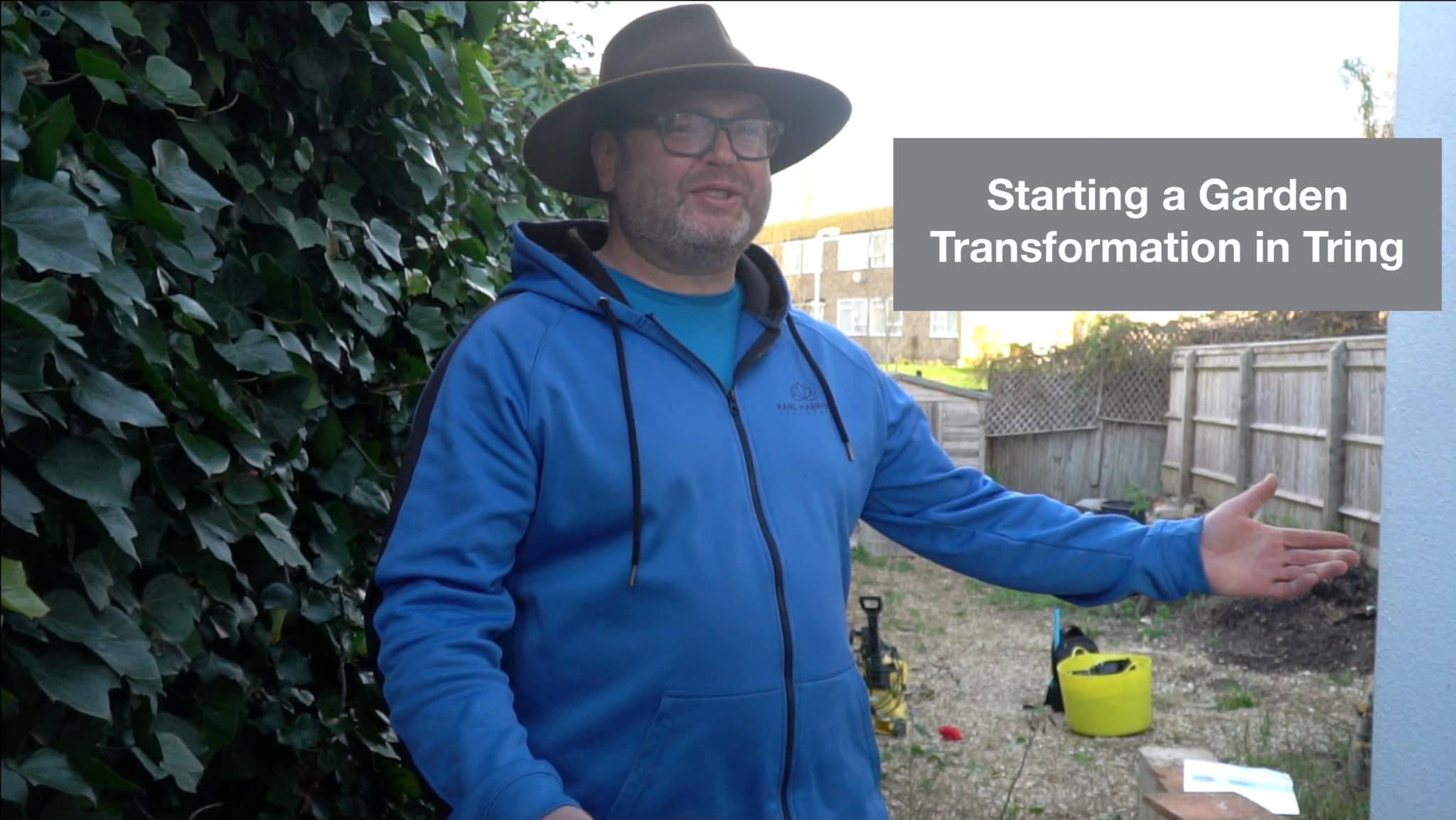 Starting a Garden Transformation in Tring