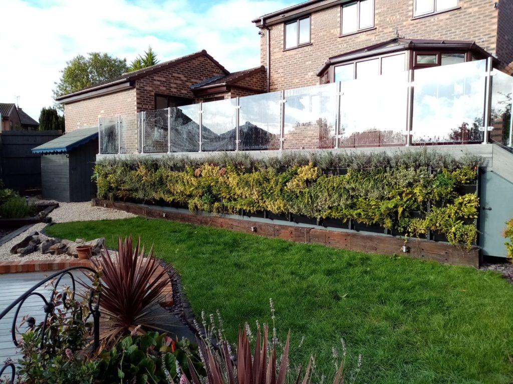 Incorporating elements of nature in landscaping projects