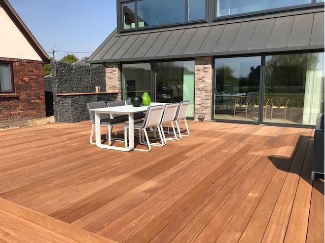 Balau premium hardwood decking