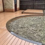 Curved Composite Decking in Milton Keynes