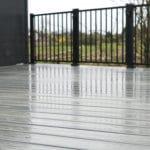 grey trex composite decking