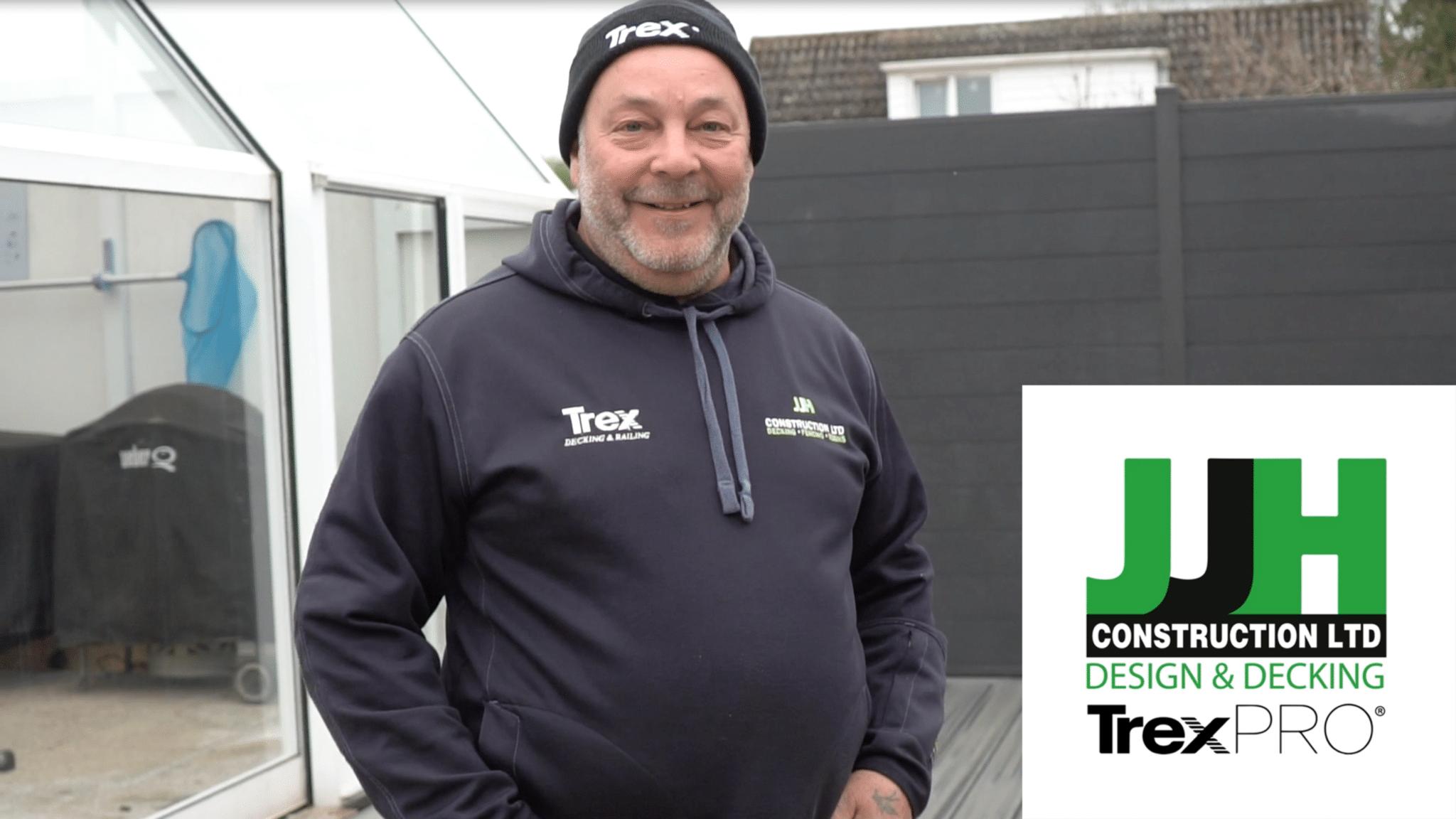 JJH Construction install Trex Composite Decking