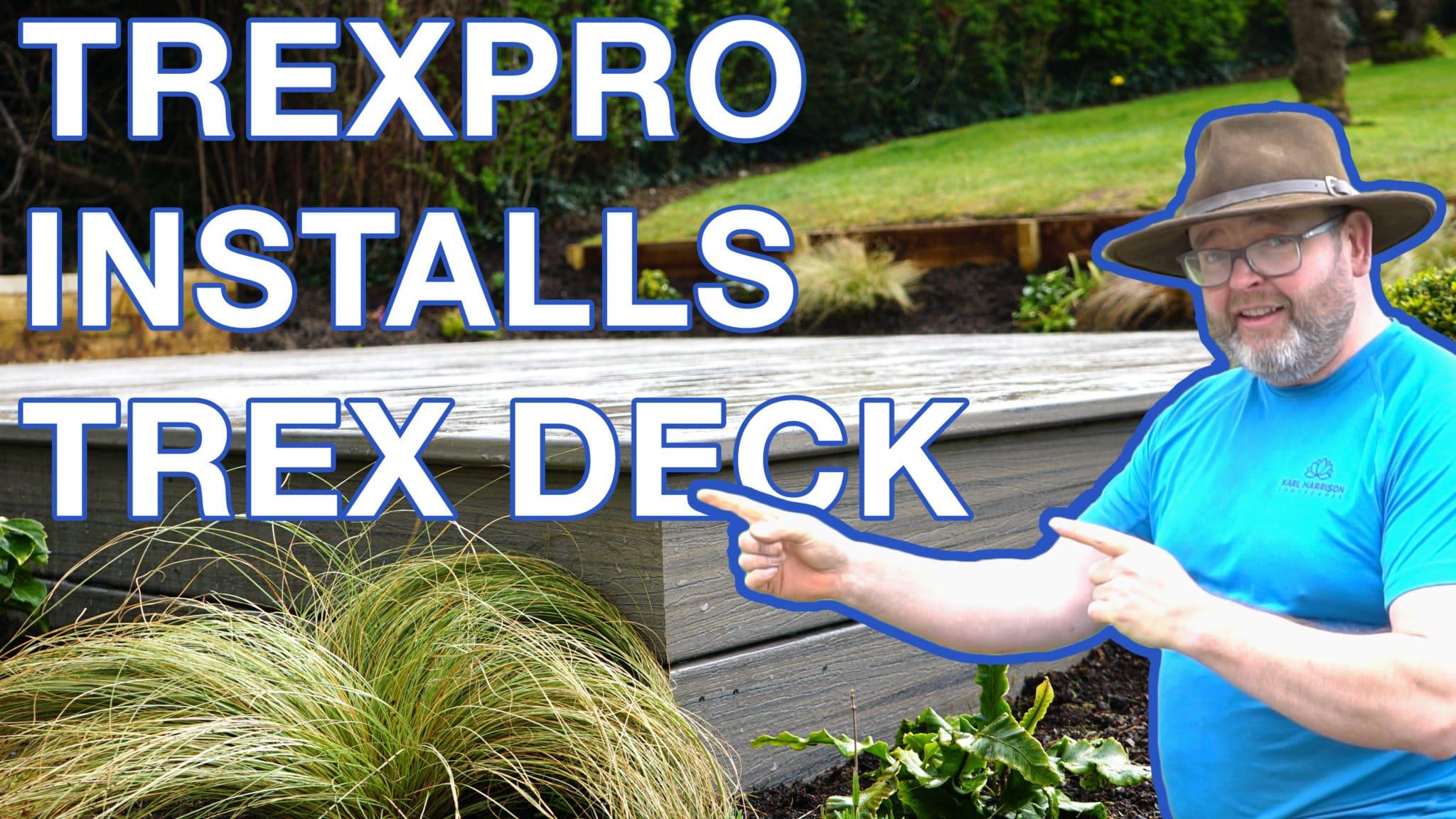 TrexPro Installs Trex Deck