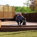 JJH Construction install trex decking