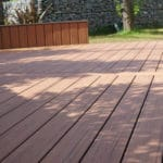 compsite decking warrantied for 25 years