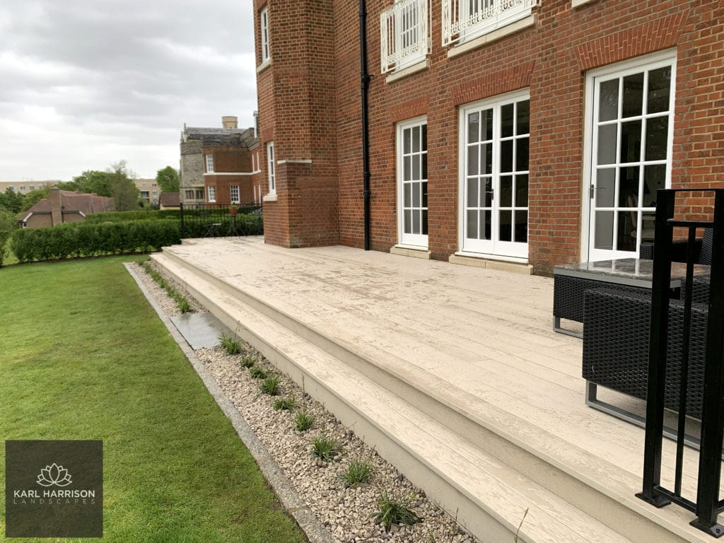 millboard Composite decking replacement in London