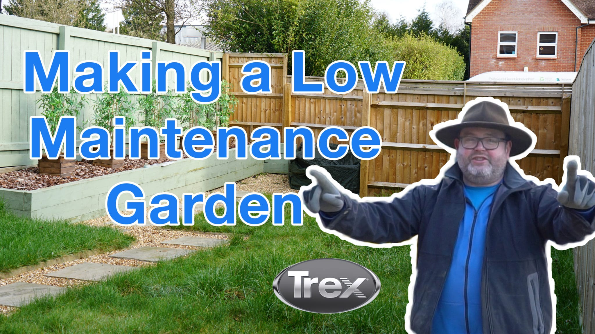 Making a low maintenance garden