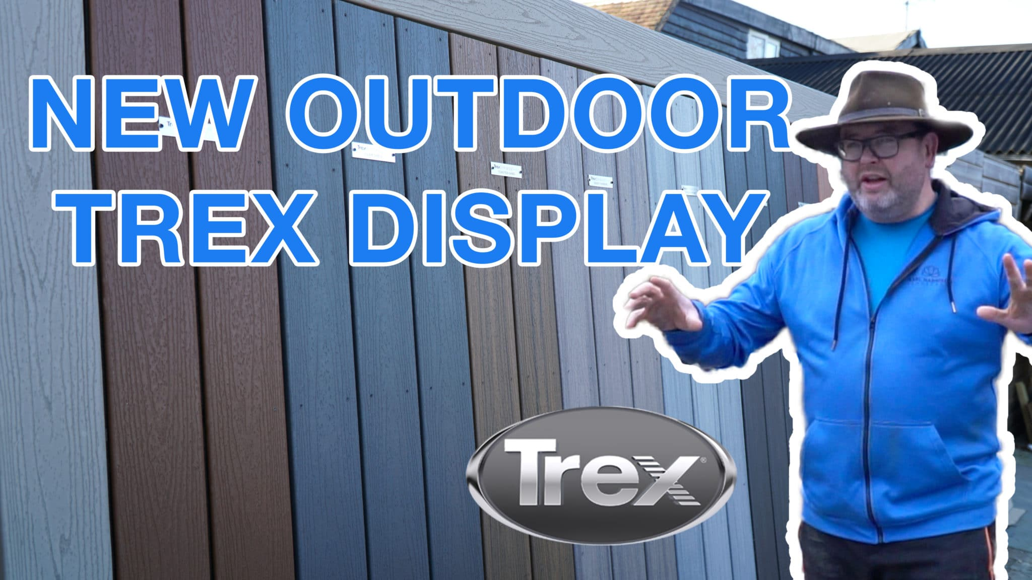 New outdoor Trex display at Country Supplies